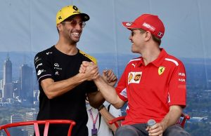 Ricciardo unlikely replacement of Vettel