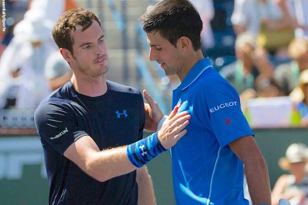 Andy Murray at Adria Tour