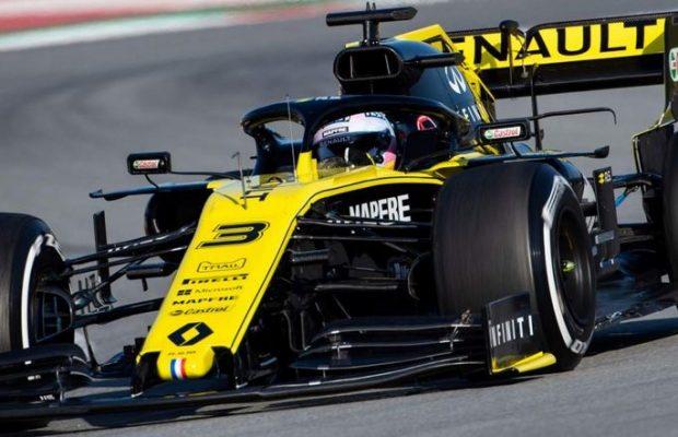 Ricciardo last season with Renault