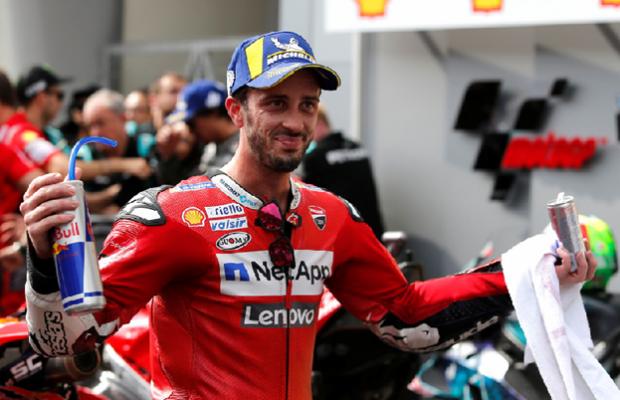 Andrea Dovizioso Breaks Collarbone in Motocross Crash