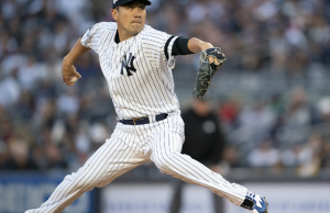 Yankees Pitcher Masahiro Tanaka Hit in Head by a Line Drive