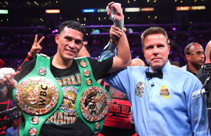 David Benavidez Calls Out Cannelo Alvarez