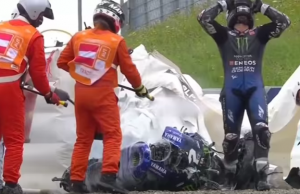 Maverick Vinales Explaines Why He Crashed In Styria 2020