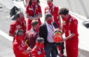 Camilleri says Ferrari is stuck