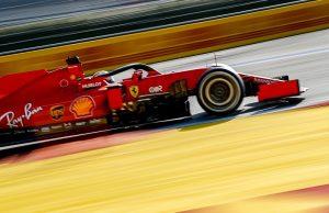 Ferrari Upgraded SF1000 at Eifel GP