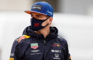 Verstappen says Perez took himself out