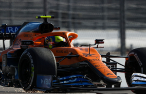 McLaren Show Up in Russian with a New Nose on the MCL35
