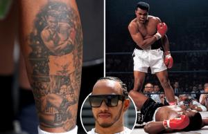 Hamilton Names Muhammad Ali