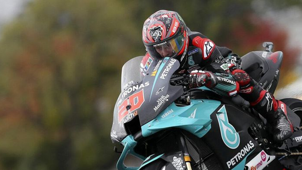 Quartararo Disappointed with His Bike since Le Mans Grand Prix