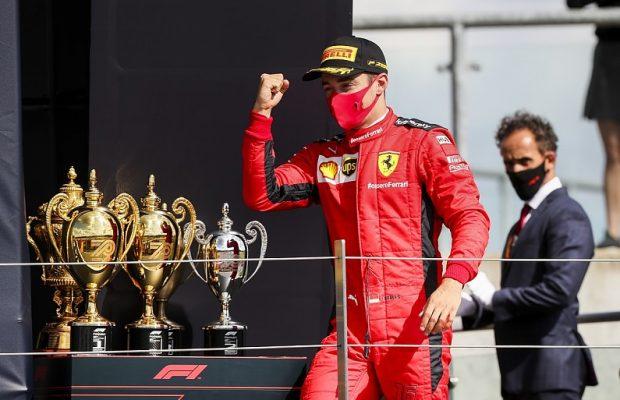 Leclerc happy with his 2020 season