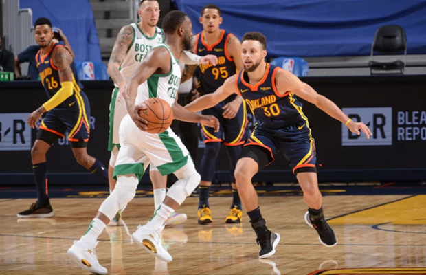 Boston Celtics Beat Golden State Warriors 107-111