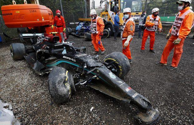 Bottas refused to speak on Imola crash with Russell