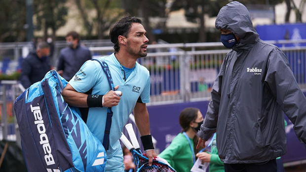 Fabio Fognini Disqualified from Barcelona Open after Insulting a Linesman
