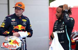 Hamilton and Verstappen war of words