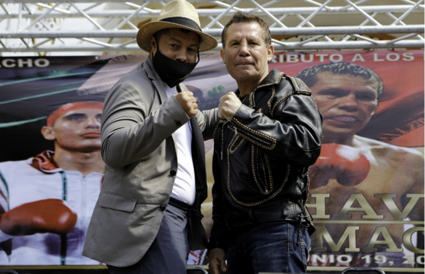 Julio Cesar Chavez Puts His Life at Risk in a Fight Against Macho Camacho Jr