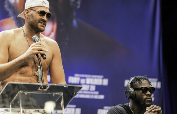 Tyson Fury Reacts to Deontay Wilder's Silence at Press Conference