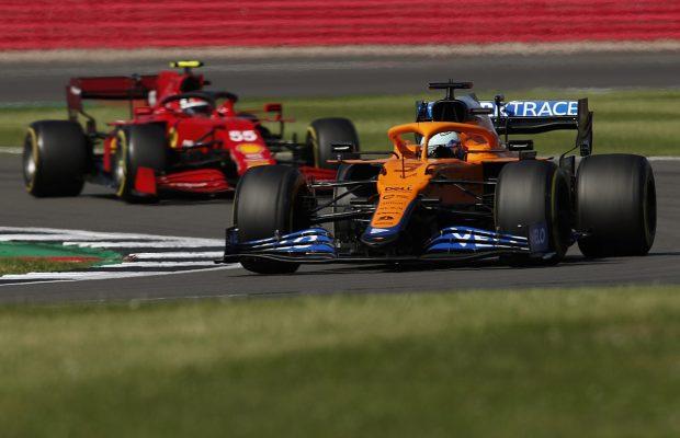 Sainz impressed by McLaren's performance