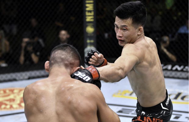 Korean Fighter Sung Jung Dominates Dan Ige at UFC Fight Night