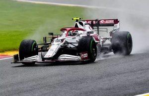 Alfa Romeo at Belgian GP