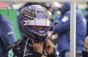 Hamilton at Beglian GP 2021