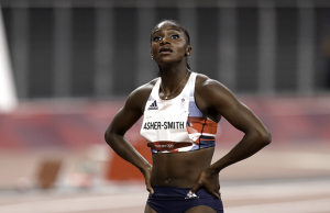 Dina Asher-Smith Withdraws from 200m Olympic Games Due to Hamstring Injury