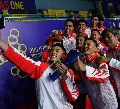 Indonesia Mencapai Peringkat Keempat di Sea Games 2019