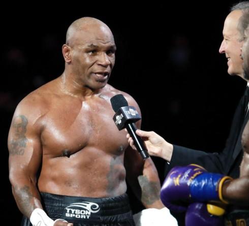 Presiden UFC Terpesona Melihat Penampilan Memukau Tyson