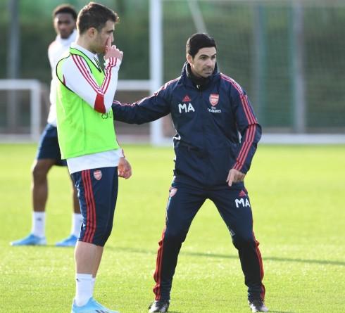 Mikel Arteta Bawa Pemain Arsenal ke Barcelona