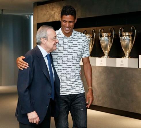 Madrid Berpisah Dengan Varane