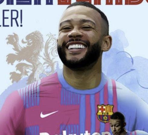 Memphis Depay Merasa Senang Bergabung dengan Barcelona