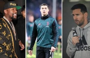 Mayweather ungguli Ronaldo dan Messi di Forbes