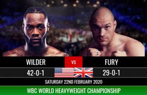 Deontay Wilder Vs Tyson Fury