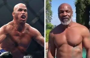 Tito Ortiz Melawan Mike Tyson