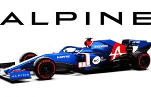 F1: Alpine Luncurkan Livery 2021
