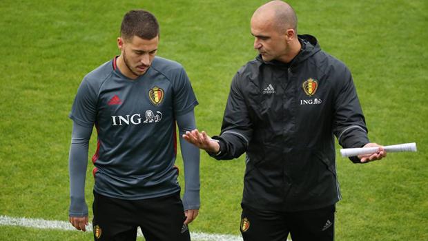 Manajer Timnas Belgia Berikan Dukungan ke Eden Hazard