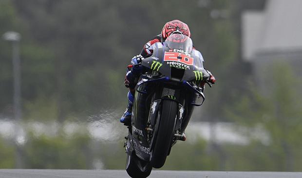 MotoGP Prancis: Quartararo Akui Kurang Berpengalaman di Trek Basah