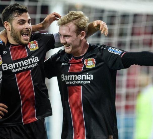 ฟุตบอล บุนเดสลีก้า เยอรมัน แฟร้งค์เฟิร์ต (9) -vs- เลเวอร์คูเซ่น (7) เวลา  : 01.30 น. สนาม : คอมแมร์ซบังค์ อารีน่า ราคาบอล : เลเวอร์คูเซ่น ต่อ ปป -5