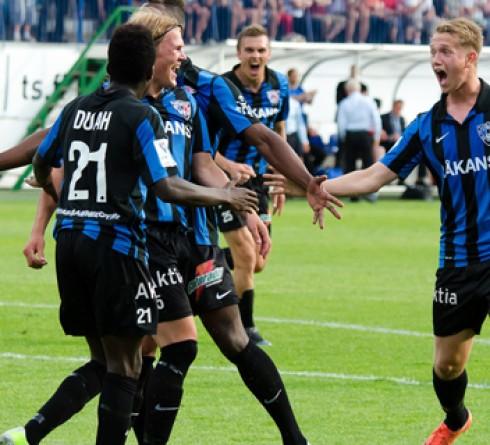 ฟุตบอล ฟินแลนด์ อินเตอร์ ตูร์คู (3) -vs- เอชไอเอฟเค เฮลซิงกิ (7)  เวลา : 22.30 น. สนาม : เวริตาส สตาดิโอน ราคาบอล : อินเตอร์ ตูร์คู ต่อ 0.5/1 -10